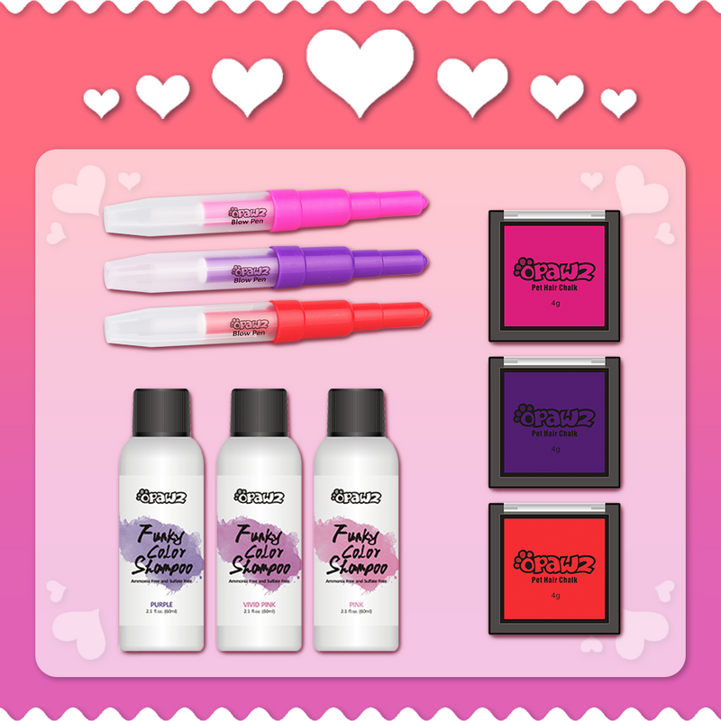 OPAWZ Valentine's Day 2021 Value Pack - Temporary Colors (VP59)