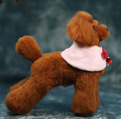 OPAWZ Toy Poodle - Teddybear Whole Body Dog Wig - Brown
