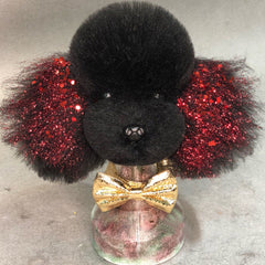 OPAWZ Toy Poodle - Teddybear Head Dog Wig - Black (DW06-4)