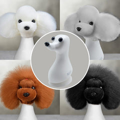 Teddybear Model Dog Head with 4 Colors Wigs Value Pack (VP24)