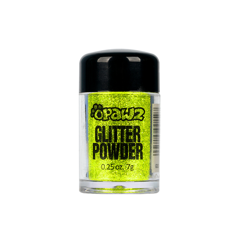 Glitter Powder-Fluorescent Yellow (TG18)