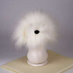 OPAWZ Model Dog Head Wig - White (DW11)
