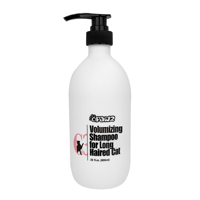 OPAWZ C3-Volumizing Shampoo for Long-Haired Cat