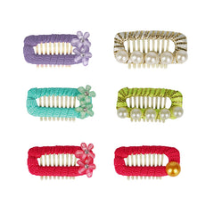 Pretty Little Pet Hair Clips (6 PCs) - A035