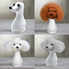 Teddybear Model Dog Head with 3 Colors Wigs Value Pack (VP22)