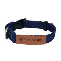 Adjustable Denim Base Collar - A061