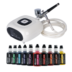 Upgrade Airbrush Kit + Temp Ink Value Pack (VP07)