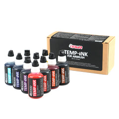 Temp Ink for Airbrush 10 Color Set (TA02)