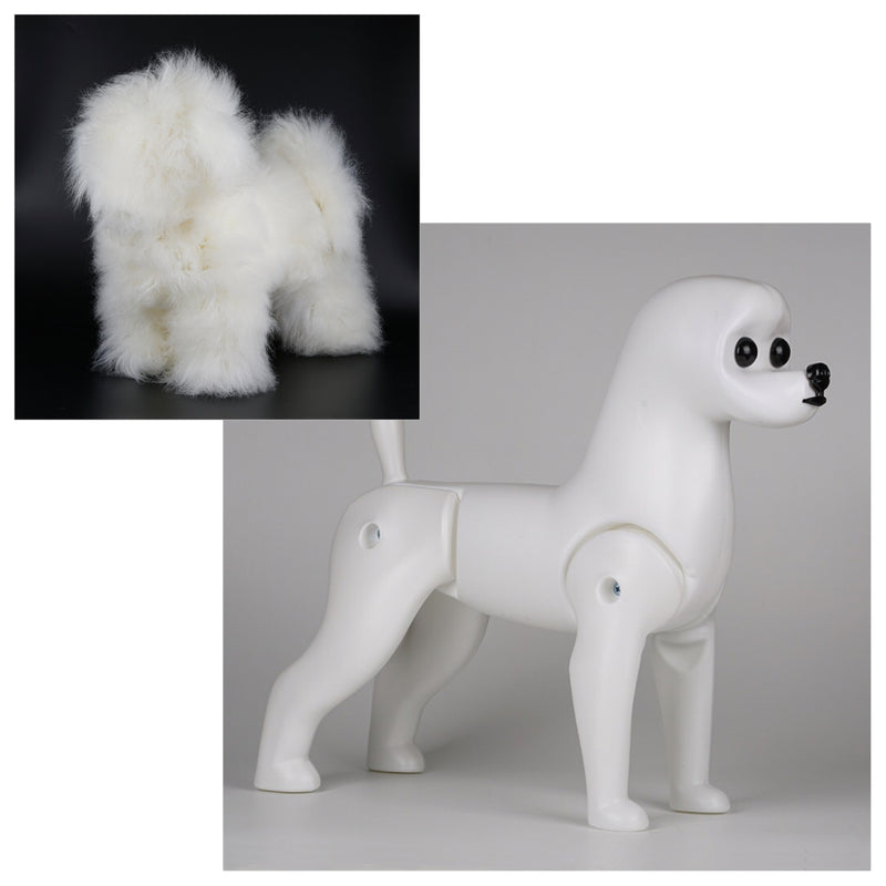 OPAWZ 1:1.2 Sized Bichon Model Dog Value Pack - White (VP31)