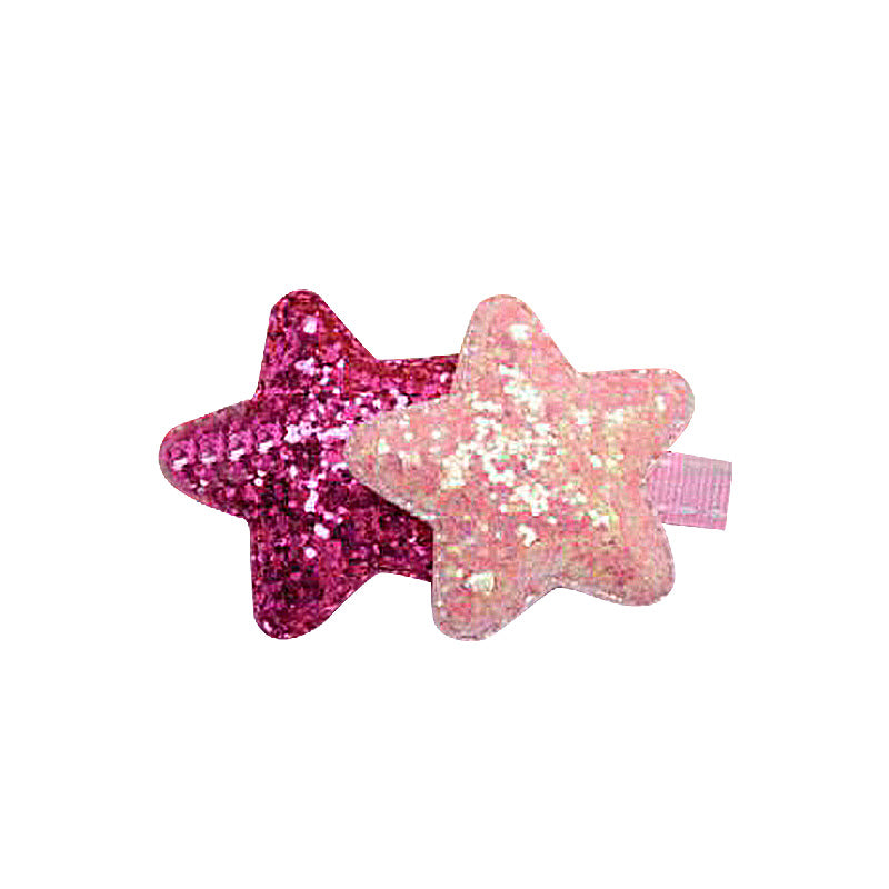 Glittery Star Pet Hair Clip - A034