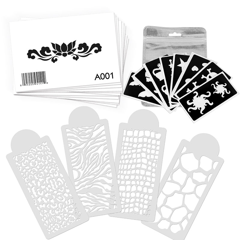 OPAWZ Tattoo Stencils Value Pack 36 Designs (VP18)