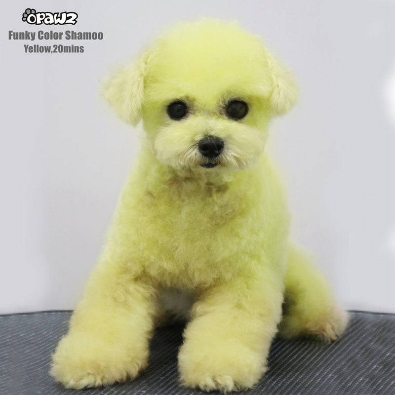 OPAWZ Pet Color Shampoo Yellow