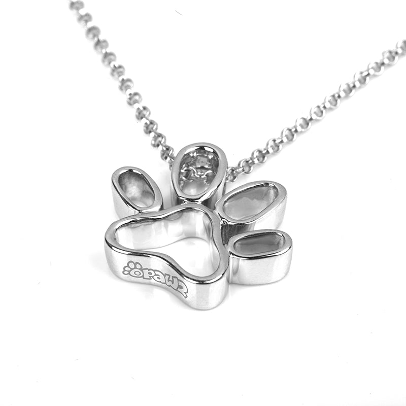 OPAWZ Sliver Necklace for Pet Lover