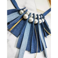 Moon Light Over the Sea Collar / Necklace - B005