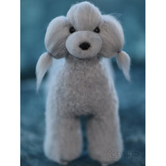 OPAWZ Toy Poodle - Teddybear Whole Body Dog Wig - Grey (DW04-2)