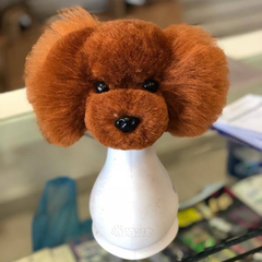 OPAWZ Model Dog Head Wig - Brown (DW15)