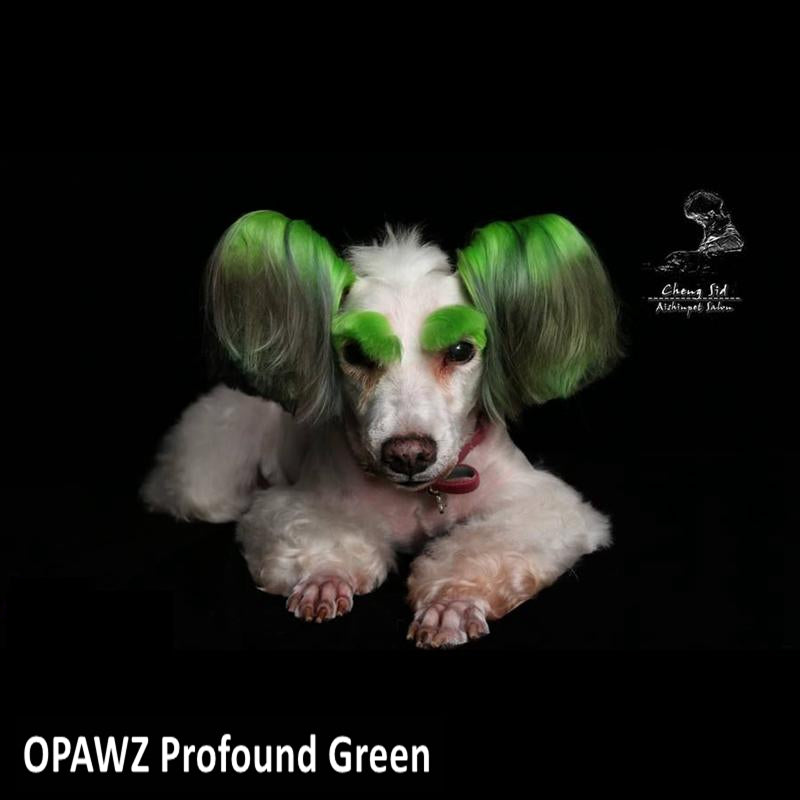 Dog Hair Dye-Profound Green