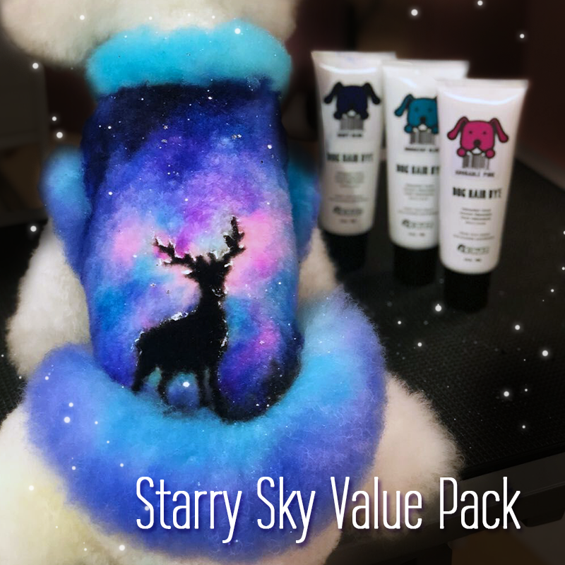 Starry Sky Design by Xiao Xia Grooming Set (VP29)