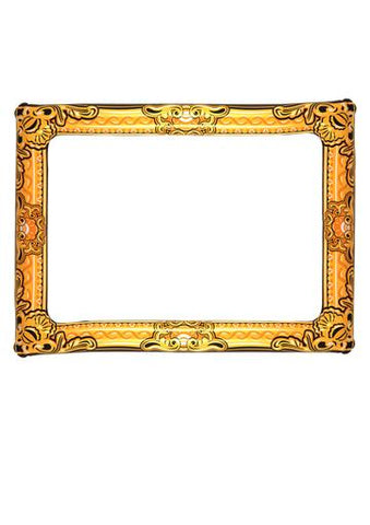 Gold photo booth inflatable frame