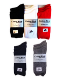 Main Picture Of Foot Size 4-7 Everyday Crew Length Socks