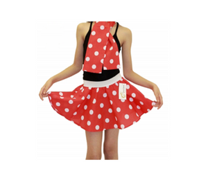 Children's 1950s Style Polka Dot Fancy Dress Skirts