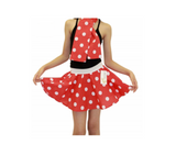 Children's 1950s Style Polka Dot Fancy Dress Skirts - Red & white