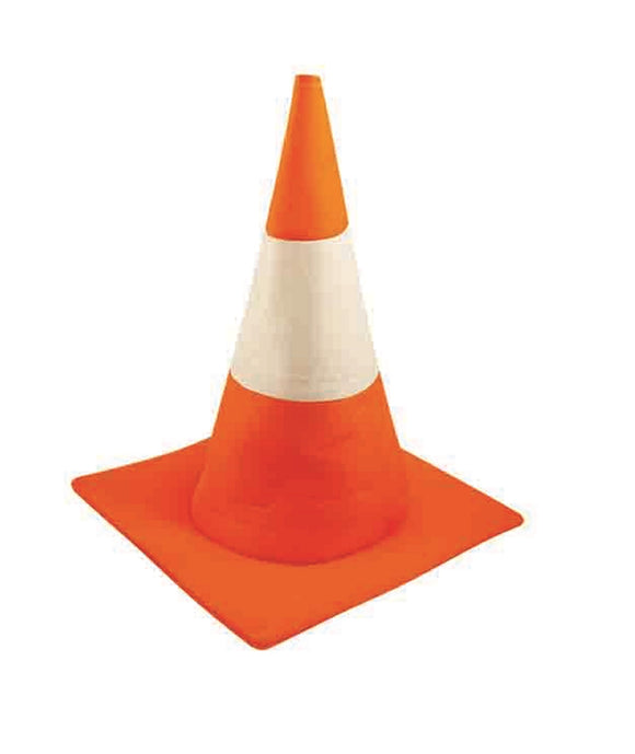 Orange Adults Fancy Dress Cone Hat Student Party Prop