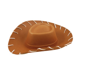 Cowboy Toy Shreriff Brown Tan Adults Fancy Dress Hat