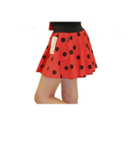 Children's 1950s Style Polka Dot Fancy Dress Skirts - red and black