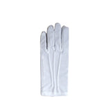 Adults & children's red & white crazy cat fancy dress book character - short white gloves