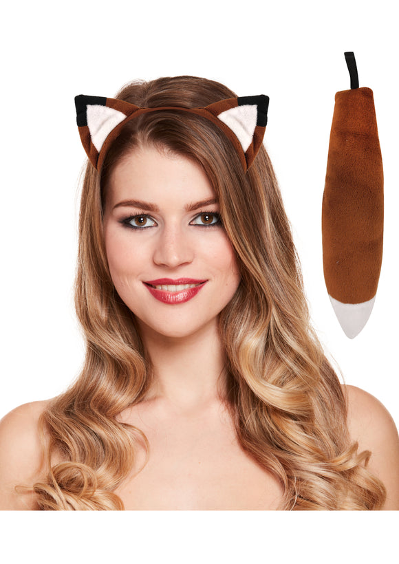 Fantastic Mr Fox Ears & Tail Costume Set