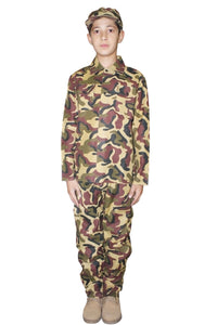Camouflage fancy dress party army 3 piece set