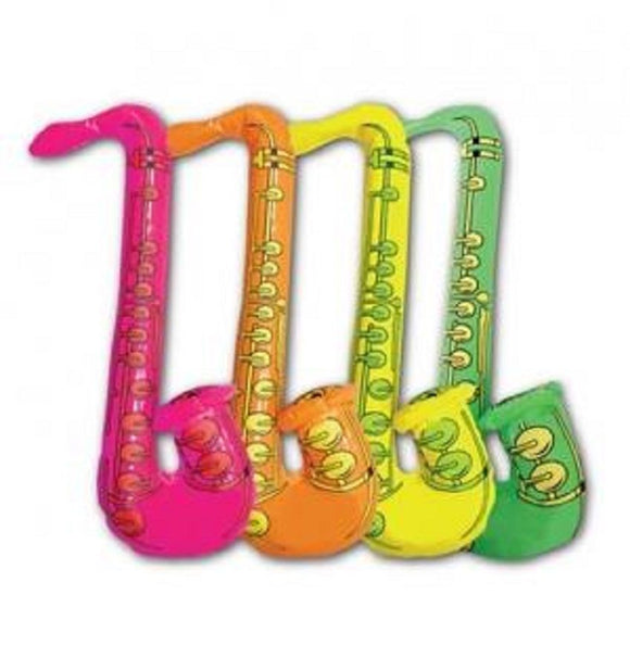 4 x fancy dress / photo booth inflatable saxophones