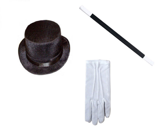 Magician 3 piece fancy dress set