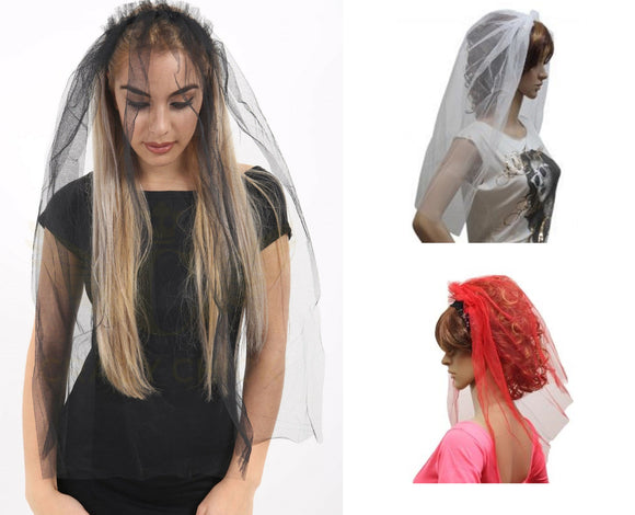 Fancy Dress Wedding Party Veils