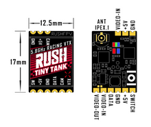 Load image into Gallery viewer, RUSHFPV TANK TINY 5.8GHZ VTX SMART AUDIO 0-25-100-200-350MW US VERSION