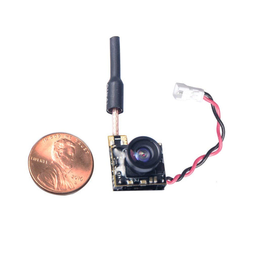 Wolfwhoop WT05 Micro AIO 600TVL Camera Only 3.4g 5.8GHz 25mW FPV Transmitter with Dipole Brass Antenna Combo