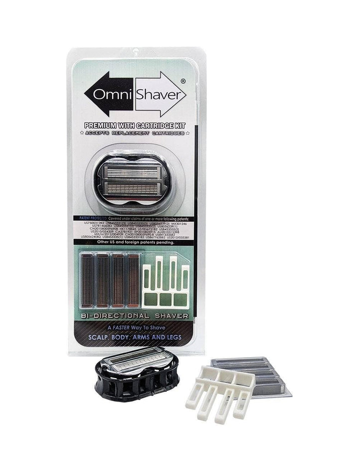 Premium OmniShaver & Cartridge Kit