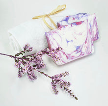 Load image into Gallery viewer, Lavender and Rose Geranium Soap- Mica
