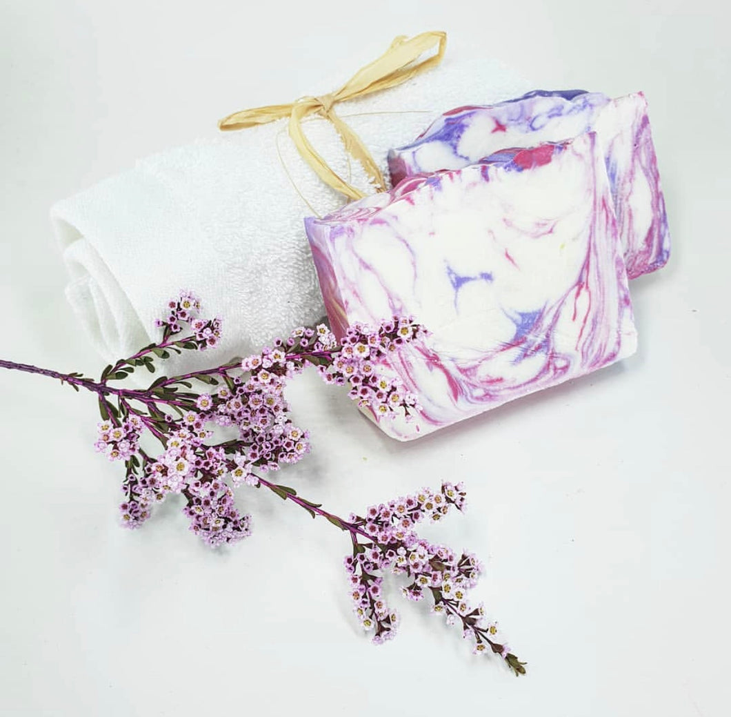 Lavender and Rose Geranium Soap- Mica