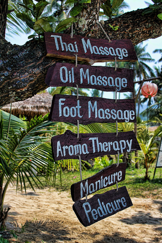 massage options