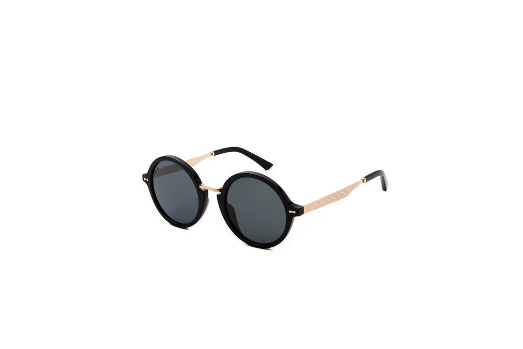Privado Athene black sunglasses alternate view