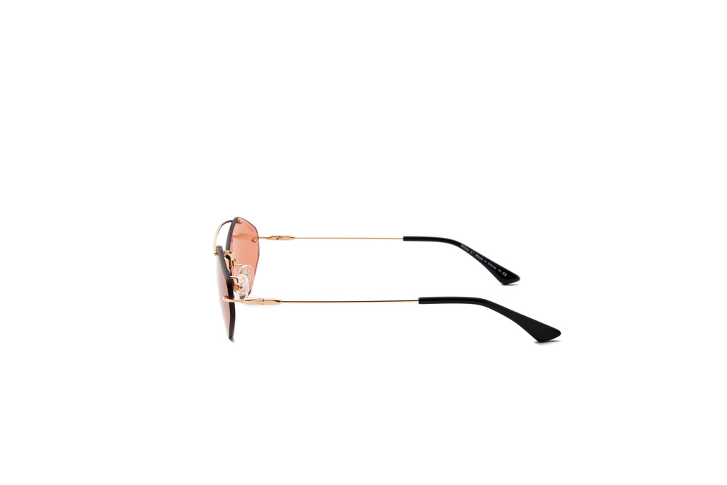 Privado Ninox gold sunglasses alternate view