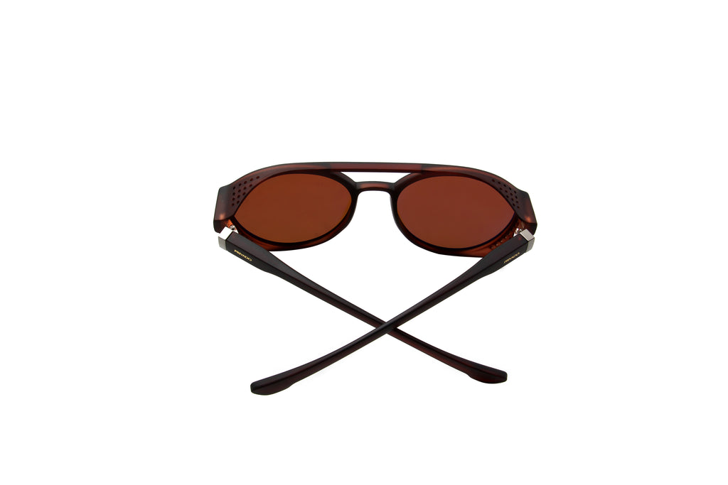 Privado Noctua matte brown sunglasses alternate view