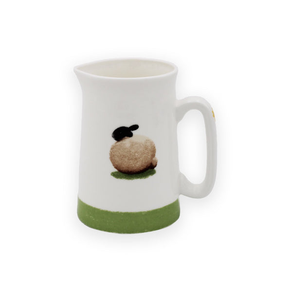 Sheep and Daisy ½ Pint Jug