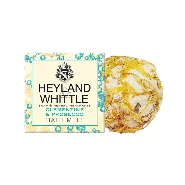 Clementine & Prosecco Bath Melt 40g by Heyland & Whittle