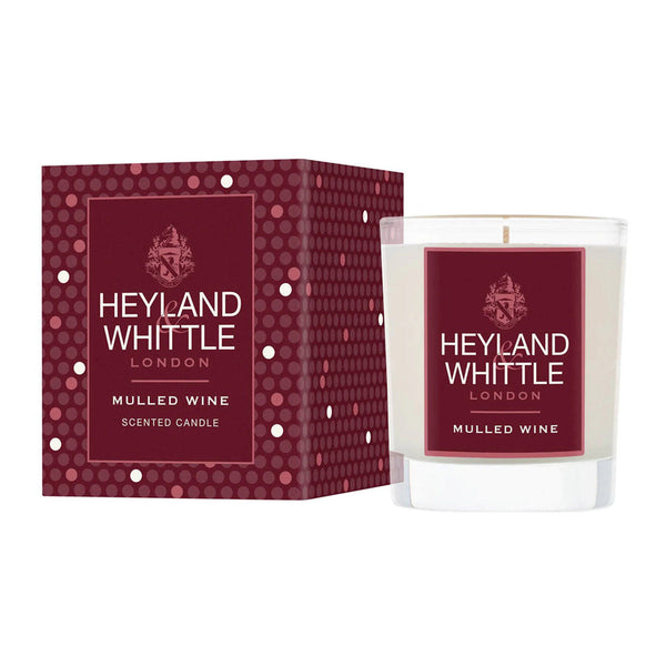 Mulled Wine Candle 180g by Heyland & Whittle