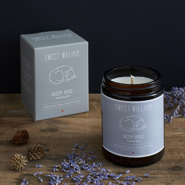 Sleepy Dog Organic Candle