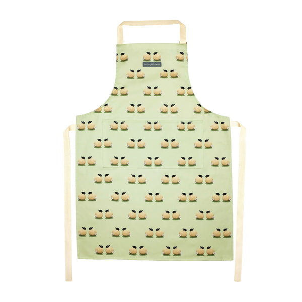 Sheep and Daisy Apron Kitchen