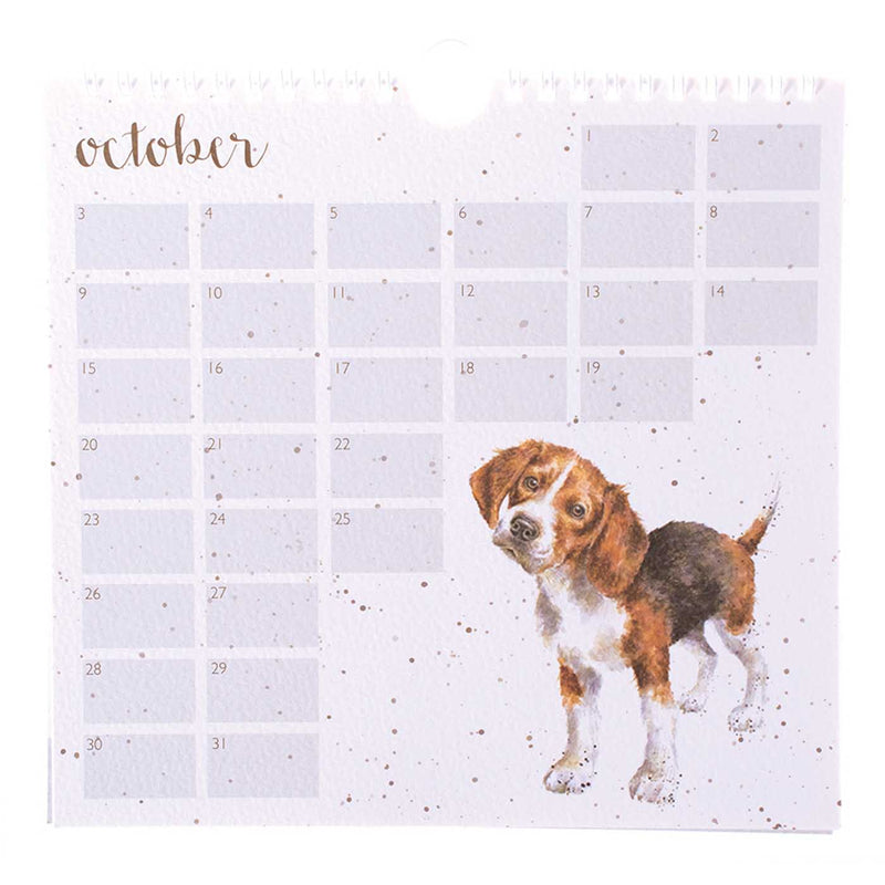 'A Dog's Life' Birthday Calendar